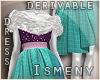 [Is] Sparkle Fur Dress