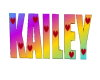 SD Kailey Name Sign