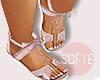 ❀ kids rose sandals