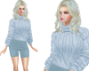 TF* Baby Blue Outfit