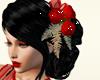 Festive Noir and  Roses
