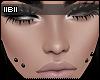 -B- Black Double Dimple