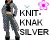 Knit Knak Silver coat