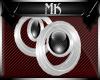 !Mk! Silver Sphere EarRg