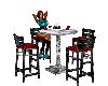 silver club table