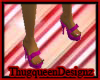 |TQ|PURPLE DELITE SHOES