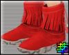 :S Xmas - Fringe Boots