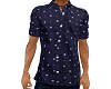 Navy Blue Dot Shirt