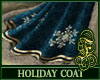 Holiday Coat Blue