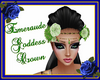 Emeraude Goddess Crown