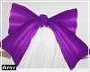 f purple bow