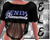 [Ele]DENIM&DIAMONDS Crop