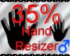 *M* Hand Scaler 35%