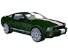 Hott Green Shelby GT500