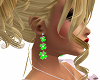 St Patrick's Earrings
