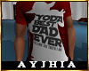"""a"""" YODA Best Dad T Red"""