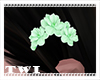 Kawaii Hair Flower Green