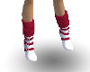 P62 Red and White Boots