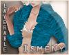 [Is] Fur Blue Coat
