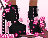 Kawaii! Boots Black