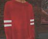 O|Red Sweater