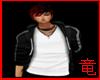 [竜]Black Plain Hoody