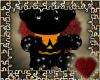 halloween bear chair