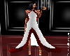 (PLB) White & Red Dress