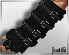 J* Belted Armwarmers