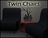 +Modern Twin Chairs+