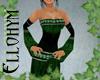 ~E- Emerald Maiden Gown