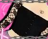 black goth corset