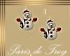 PdT Snowman Earrings
