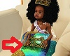 kid Mermaid Royal pillow