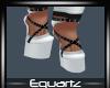 Halloween White Heels