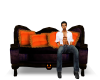 HALLOWEEN SOFA W/POSES