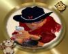 Tiny CowGirl Sticker2
