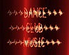 Dance Club Music Sign