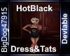 [BD]HotBlackDress&Tats