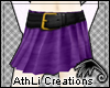 L~Grape Jam Skirt