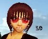 [LO] Red WHite Glasses