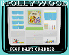 pooh baby changer