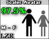 Scaler Avatar M F 97.5%