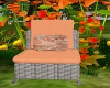 FD5 Peach Wicker Chair