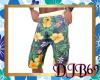 Tropical Cargo Shorts