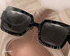 f. black marbled shades