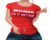 WOMEN DO IT BETTER TEE