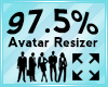 Avatar Scaler 97.5%