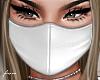 f. white face mask