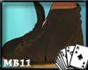 XI brown shoes